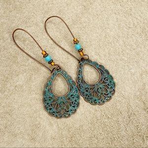 Jewelry - 3pc Bohemian Dangle Earring Bundle
